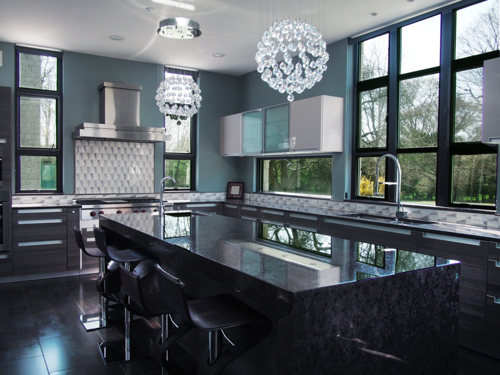 Modern Home in Purchase, The Kitchen