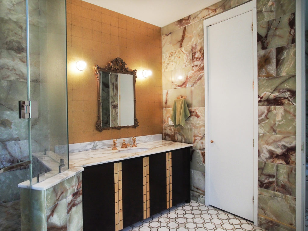 Modern Home in Purchase, Master Bathroom