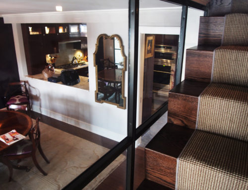 On the Water in Rye, The Dining Room & Stairway