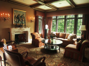 Stately in Armonk, The Sitting Room