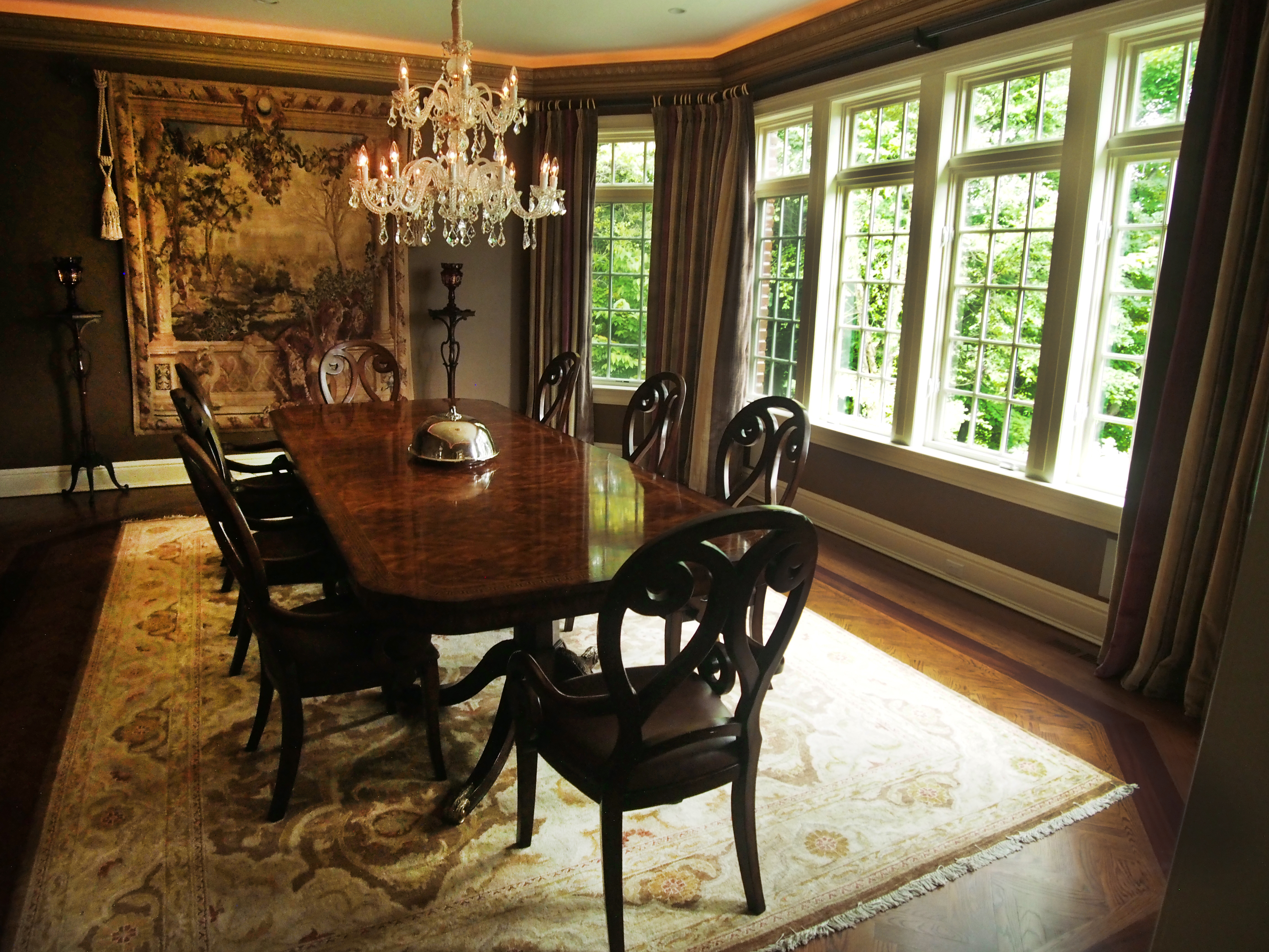 Stately in Armonk, The Dining Room