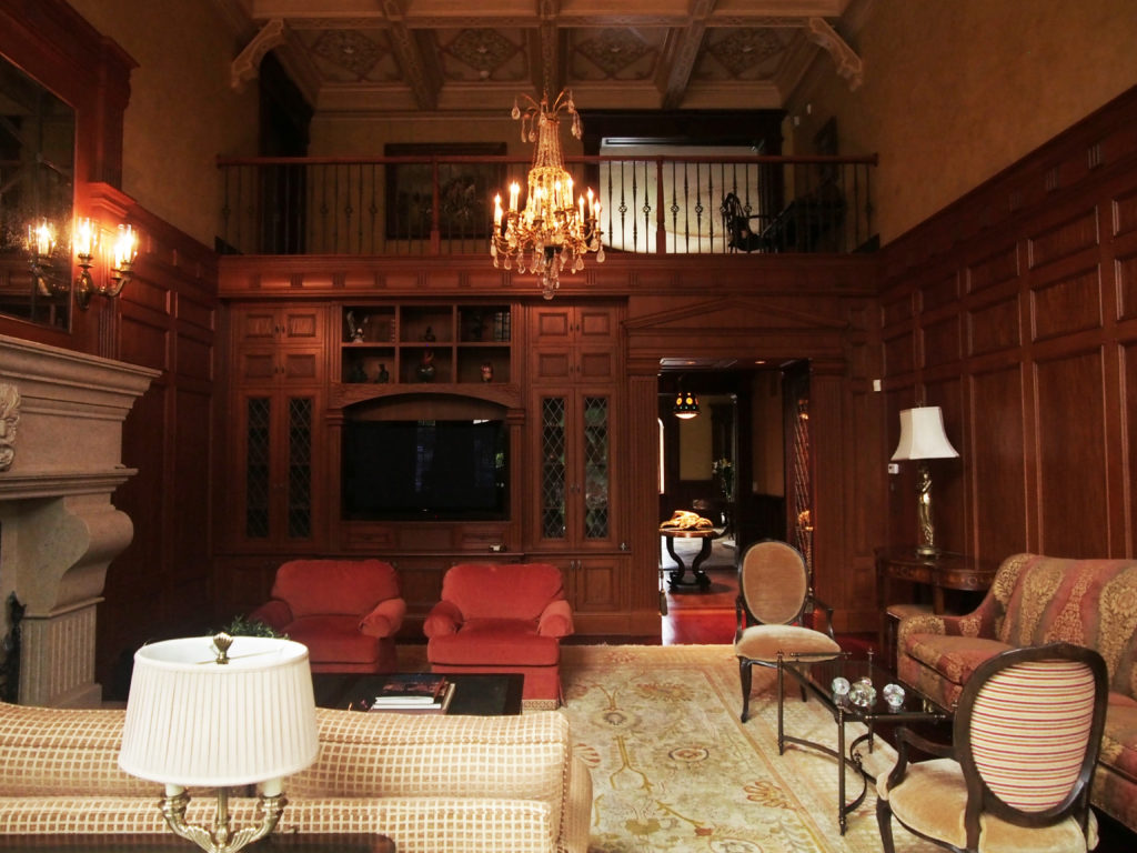 Stately in Armonk, The Living Room