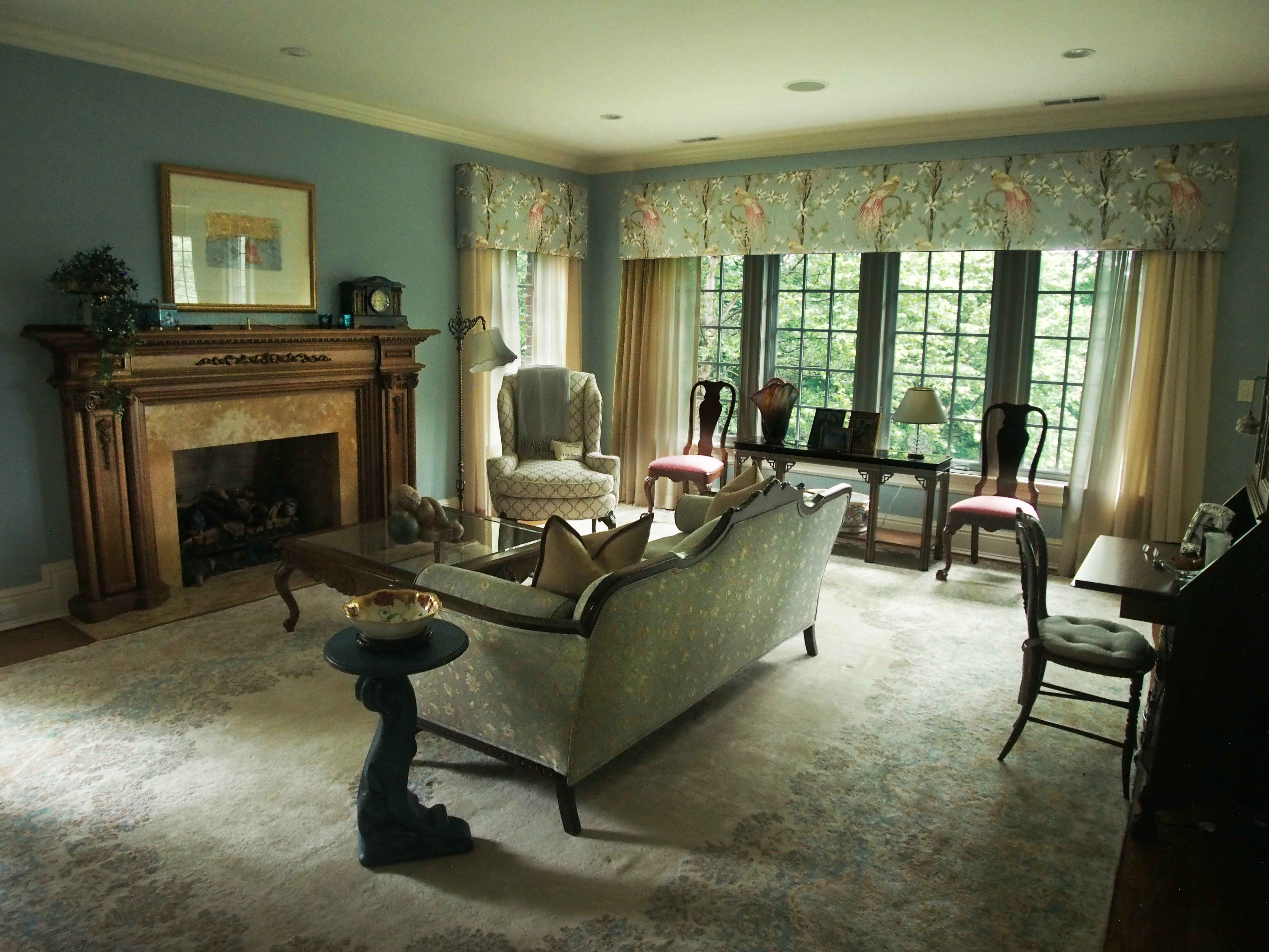 Stately in Armonk, The Family Room