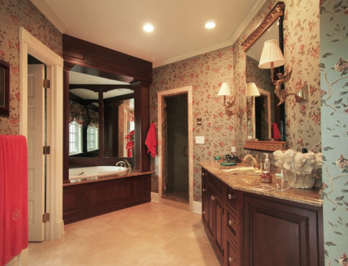 Stately in Armonk, The Master Bathroom