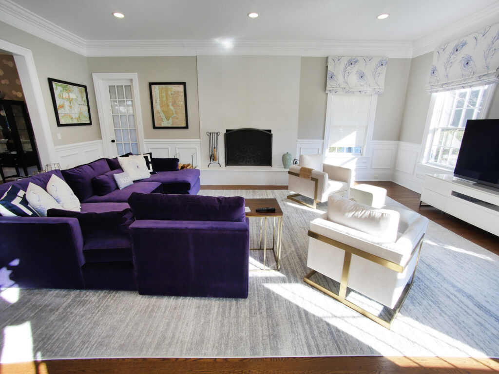 Elegance in Rye, Family Room