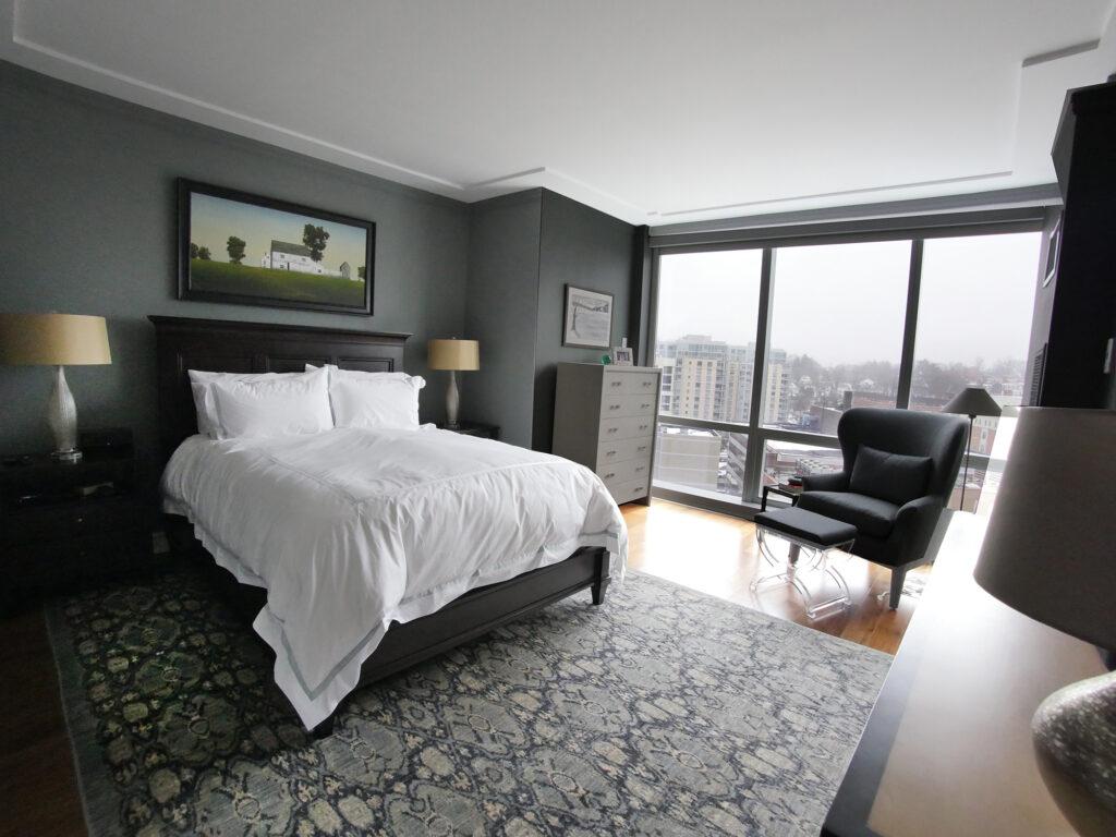 White Plains Cityscape, Master Bedroom