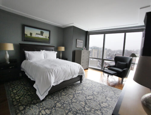 White Plains Cityscape, Master Bedroom