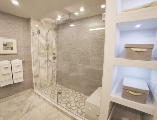 White Plains Cityscape, Master Bathroom