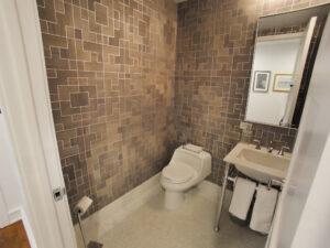 White Plains Cityscape, Half Bathroom