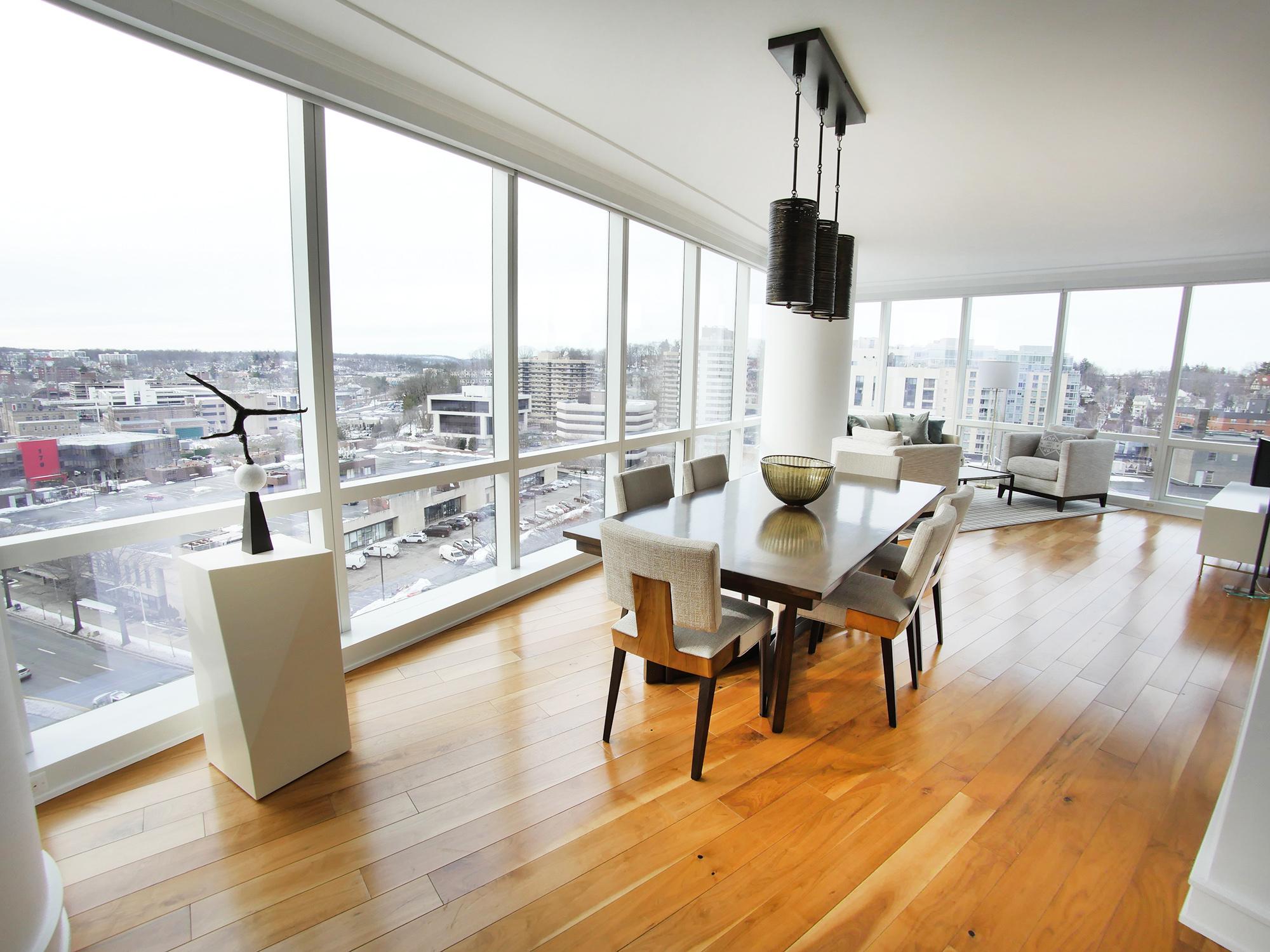White Plains Cityscape, Living Room